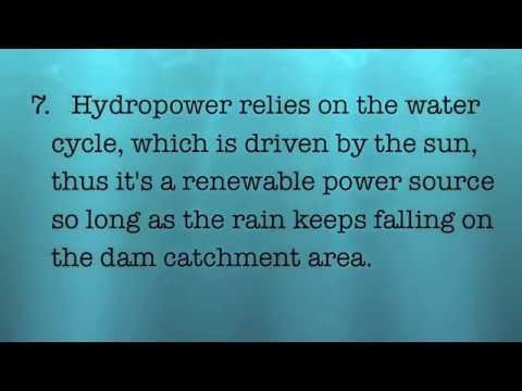 Hydroelectric energy in Colombia