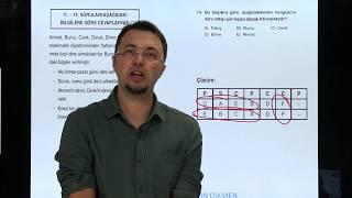 Sözel Mantık Soru 4 Orkun DİKMEN (sabitler tablosu)