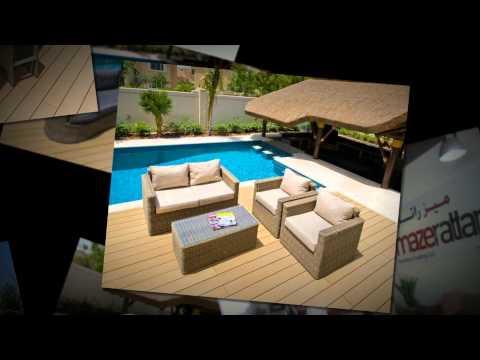 Wooden Garden Furniture Dubai