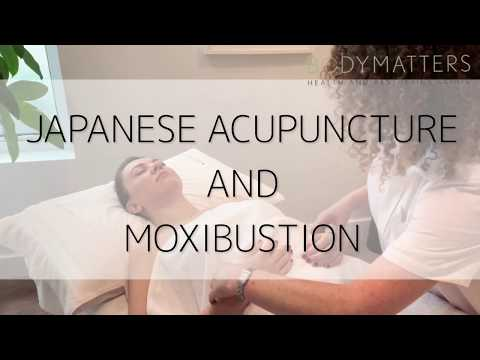 JAPANESE ACUPUNCTURE AND MOXIBUSTION