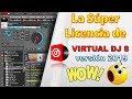 Super licencia de virtual dj 8 version 2019 que todos quieren tener