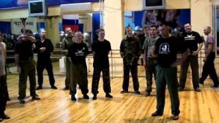 Бесконтактный бой(обучение его азам,напряжения,работа тазом).Система РВИ.