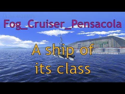 WoWs: Pensacola - A ship of its class