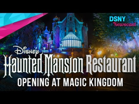 The Haunted Mansion Themed-Restaurant to Open at Magic Kingdom??? - Disney News - 5/7/17