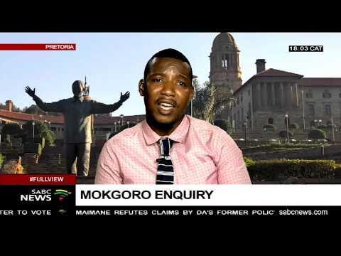 UPDATE: Mokgoro Enquiry