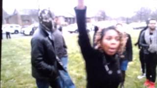 Ferguson McCluer Protest 2 Amen Hotep