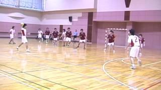 2005年度 北海道学生ハンドボール秋季リーグ3部(未来大 vs 釧公大)