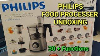 PHILIPS viva Food processor Unboxing-HR7769 ഫുഡ് പ്രോസസർ My Philips Food Processor PART 1