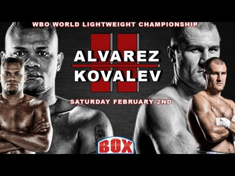 SERGEY KOVALEV VS ELEIDER ALVAREZ 2 LIVE COVERAGE  !!