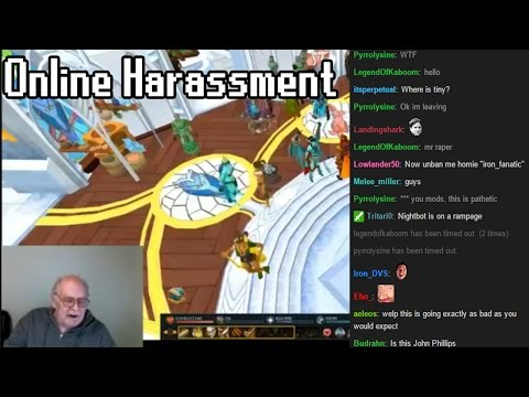 Online Harassment In The RuneScape Community