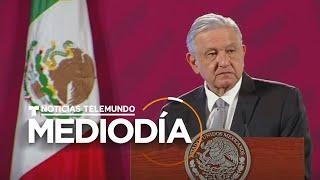 AMLO pide al Senado consulta popular para enjuiciar a expresidentes de México | Noticias Telemundo
