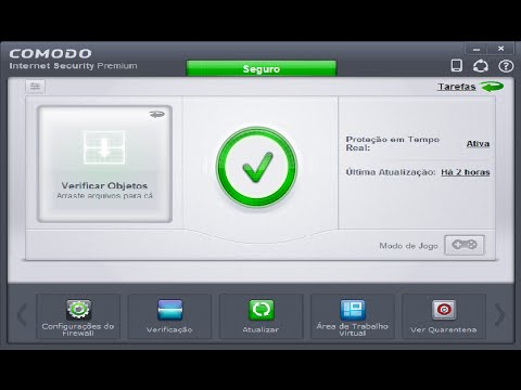Como Instalar e Configurar o Antivírus Comodo Internet Security Premium  -  Windows 10