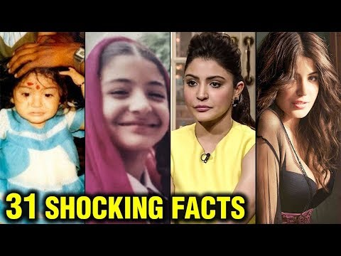 Anushka Sharma SHOCKING UNKNOWN 31 Facts | Modelling To Marriage