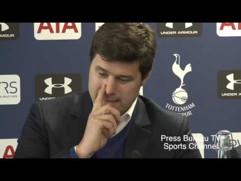 Mauricio Pochettino pre Manchester City vs Tottenham