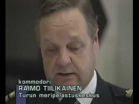 Ykkösjuttu: Mayday Estonia (1994)