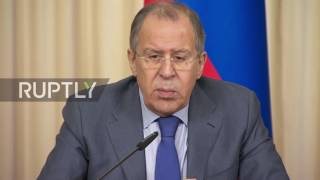 Russia  Lavrov dismisses 'unfounded' accusations of Montenegro election interference