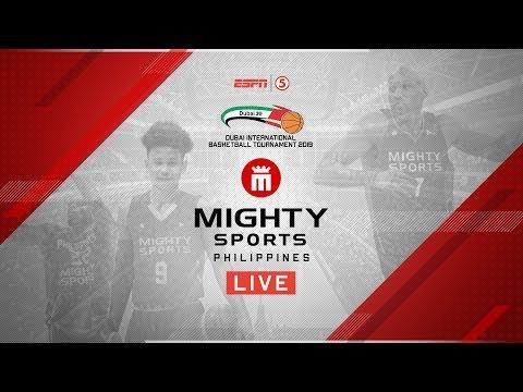 Mighty Sports Philippines Vs. Al Riyadi Lebanon | 2019 Dubai International Basketball Championship