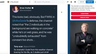 Weather Channel | Fake news and fake weather ravaging the world | CNN *gasp* defends fake weather