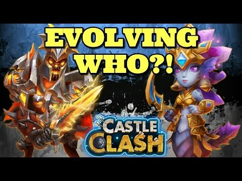 Castle Clash: Evolving Who!?