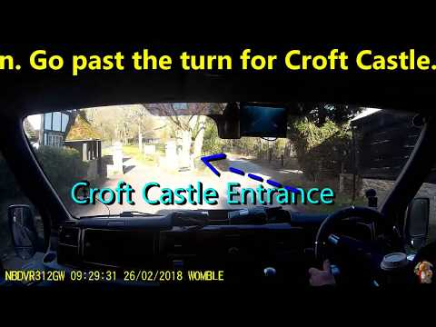 Camper Croft Castle Grounds