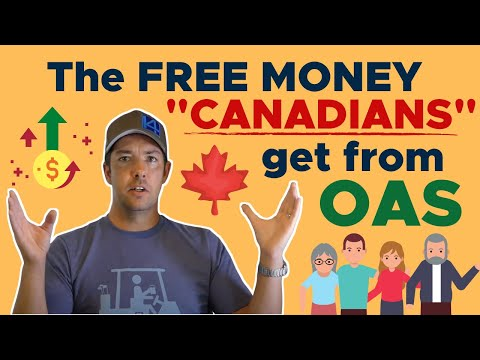 """Old Age Security (OAS) - The Free Money """"Canadians"""" Get"""