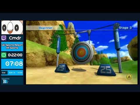 "Summer Fundraiser 2018: Wii Sports Resort ""All Sports"" by Cmdr in 18:42"