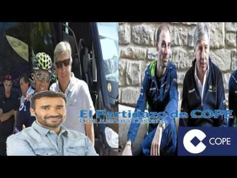 "Entrevista a Eusebio Unzué Movistar: ""Valverde se pierde esta temporada y ojalá se quede solo"""