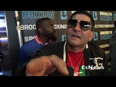 Angel Garcia What We Have To Do To Get Keith Thurman EsNews Boxing