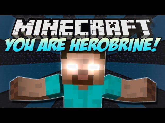 minecraft you are herobrine yah mod showcase 1 4 7 clip fail