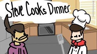 Steve Aşçılar Akşam Yemeği - Animasyon Skeç