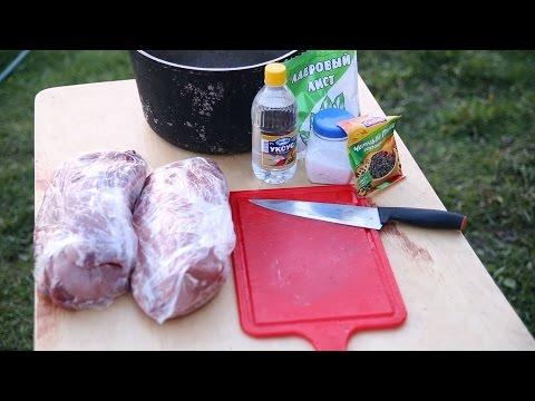 шашлык из свинины в уксусе с луком рецепт пошагово