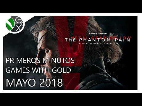 Primeros Minutos / Games with Gold Mayo 2018 / Metal Gear Solid V: The Phantom Pain