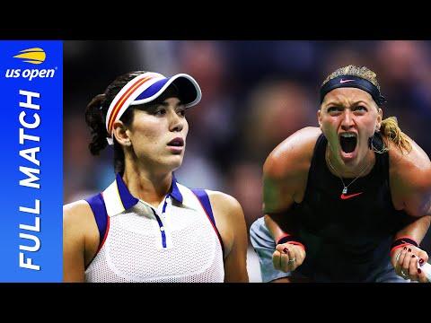 Petra Kvitova vs Garbine Muguruza in a crunch clash! | US Open 2017 Round 4