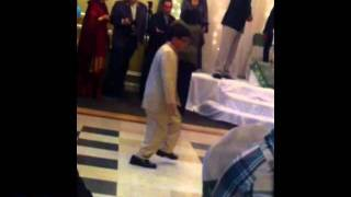 Funny Afghan boy dancing at wedding AfghanComedy.com