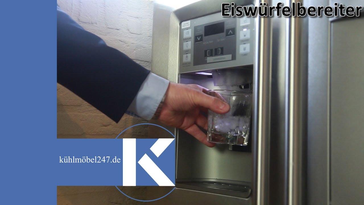 Amerikanischer Kühlschrank Rot : Amerikanischer kühlschrank general electric eiswürfelbereiter