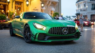 825HP RENNtech Mercedes-AMG GT R - Start Up and Driving in Monaco !