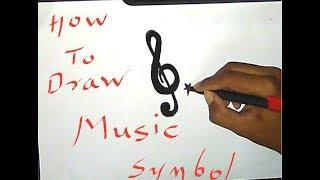 Drawing of | music symbol |
