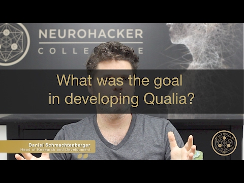 What was the goal in developing Qualia?