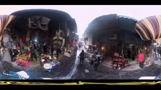 الجزيرة 360 - جولة بتقنية 360 في أسواق تونس العتيقة وجامع الزيتونة