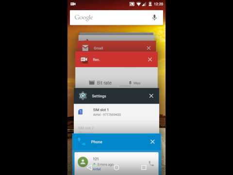 Android One Running Android 5.1 And Dialer Behavior With Multiple Sims