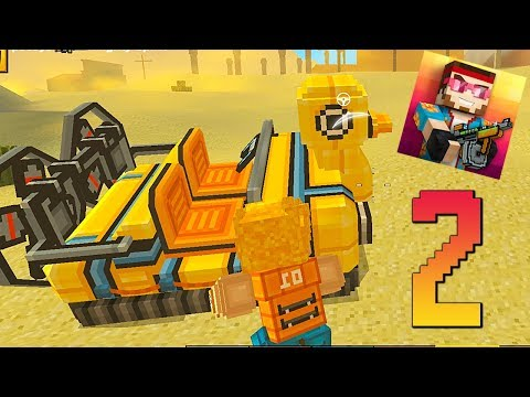 Pixel Gun 3D - Gameplay Walkthrough Part 2 - Noob In The Battle Royale (Android Games Top)