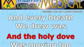 Hallelujah Bon Jovi Leonard Cohen Karaoke