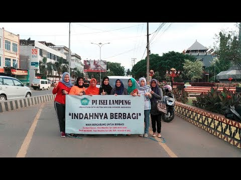 Persatuan Istri (PI) ISEI Lampung Berbagi Nasi Bungkus
