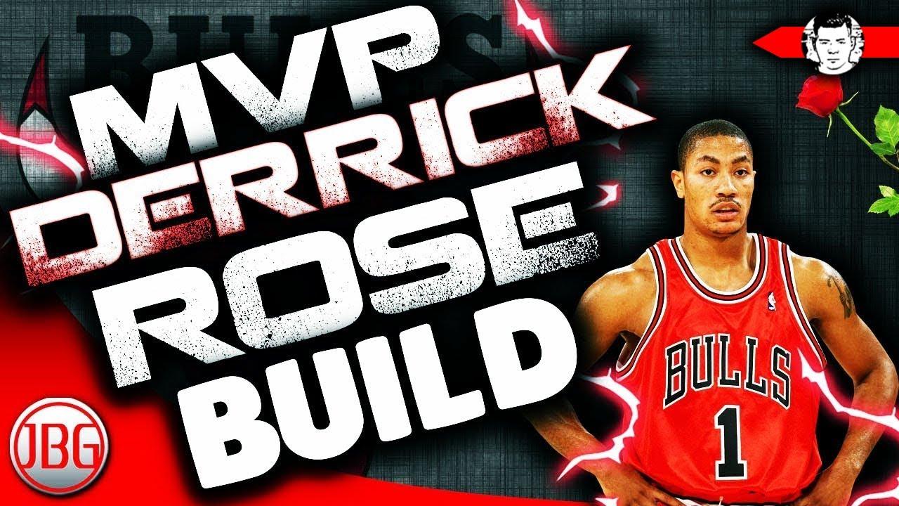 edf6ae8384d NBA 2K18 MVP Derrick Rose Archetype for MyCAREER - NBA 2K18 My Career Tips  by JackedBillGaming