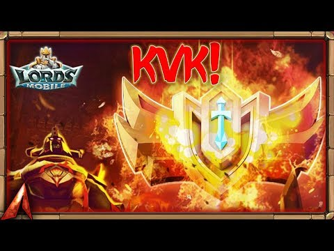 1v1 KvK! Lords Mobile