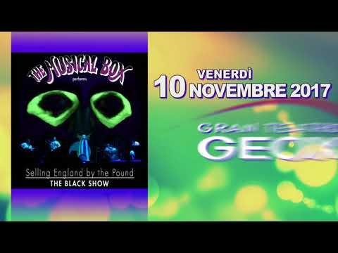 "The Musical Box ""The Black Show"" - Gran Teatro Geox - Padova"