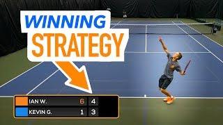 Winning Tennis Mindset - Make Strategy Adjustments!