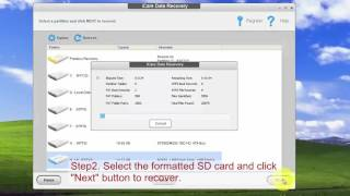 SD card format recovery  recover data after formatting sd card