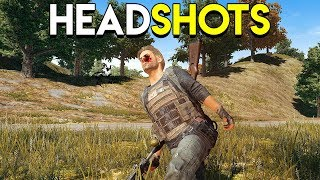HEADSHOTS! - PlayerUnknown's Battlegrounds (PUBG)