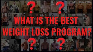 Best Weight Loss Program For Men - Top 4 Big Review + Winner?